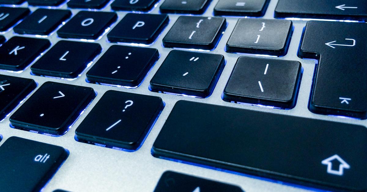 uitleg toetsenbord laptop